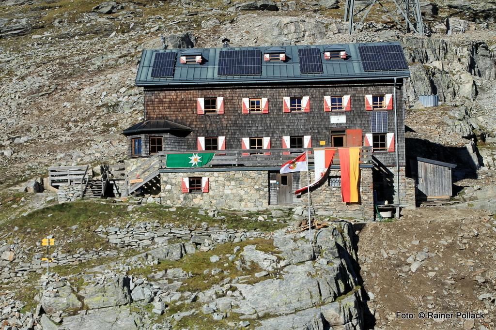 Venediger Höhenweg Nord Neue Prager Hütte bis St.Pöltener Hütte
